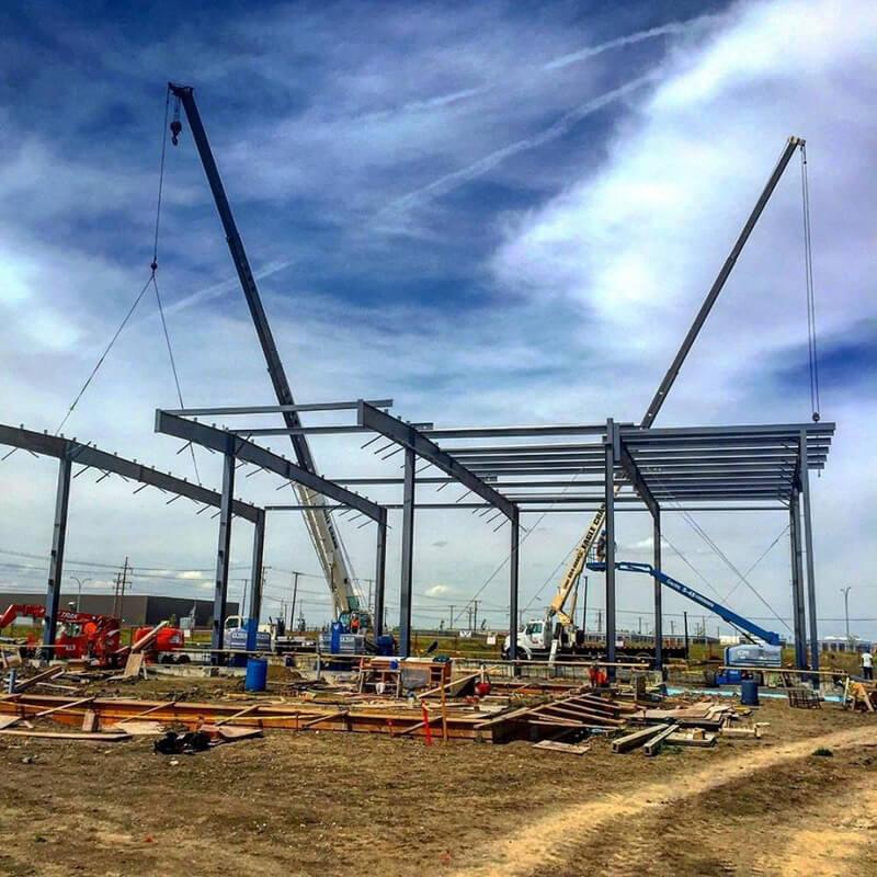 Industrial Business Steel Framework