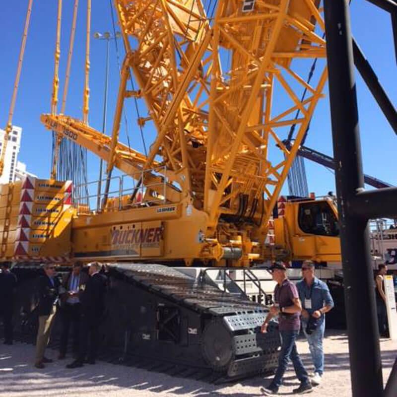 Mobile Crane on Tread