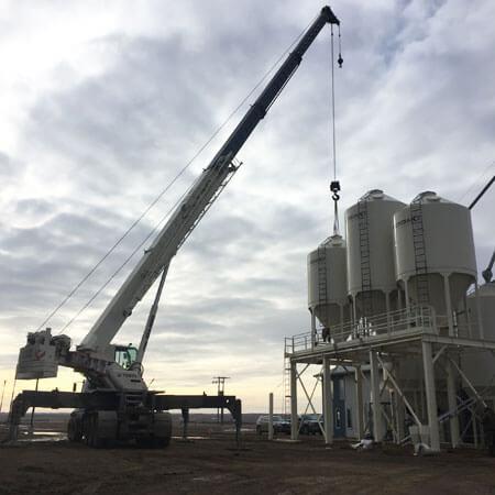 Bins 80-ton