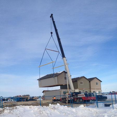 Modular 90-ton Crane