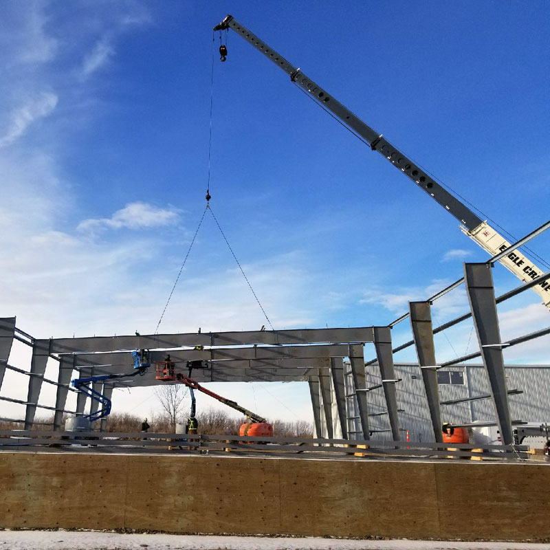 80 Ton Steel Erection 2